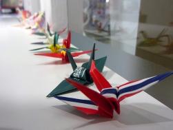 flag origami